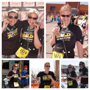 Cowtown Marathon 2014 with Sherri Daniel