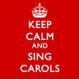 keep calm and sing carols