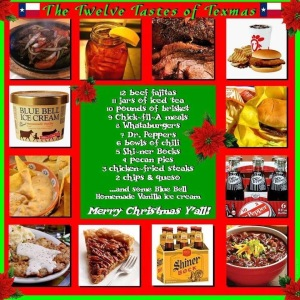 12 Foods of Texas at Christmas