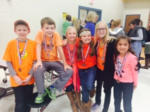 Battle of the Books team 14