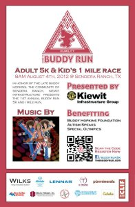 Buddy Run Poster