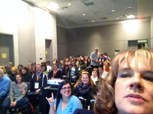 "A selfie with ""The Why of Genius Hour"" audience at TCEA."